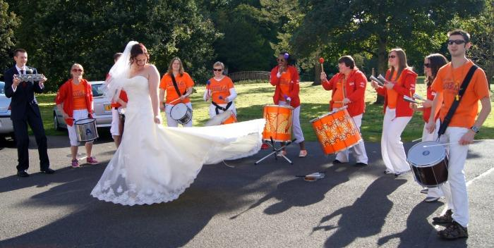 The Samba School : photo : TESS Wedding