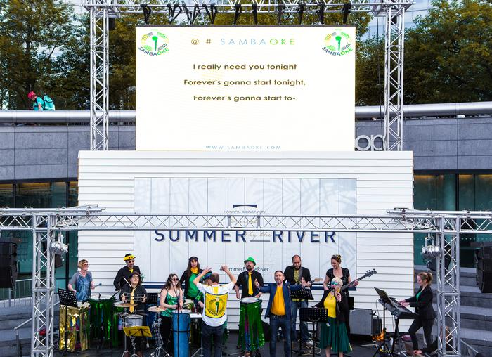 1. Sambaoke live @ Summer By The River Festival 2019