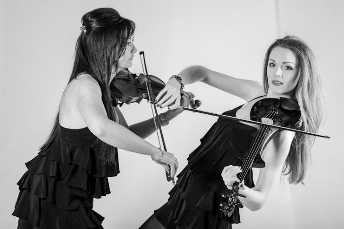 2. Electric violin duo