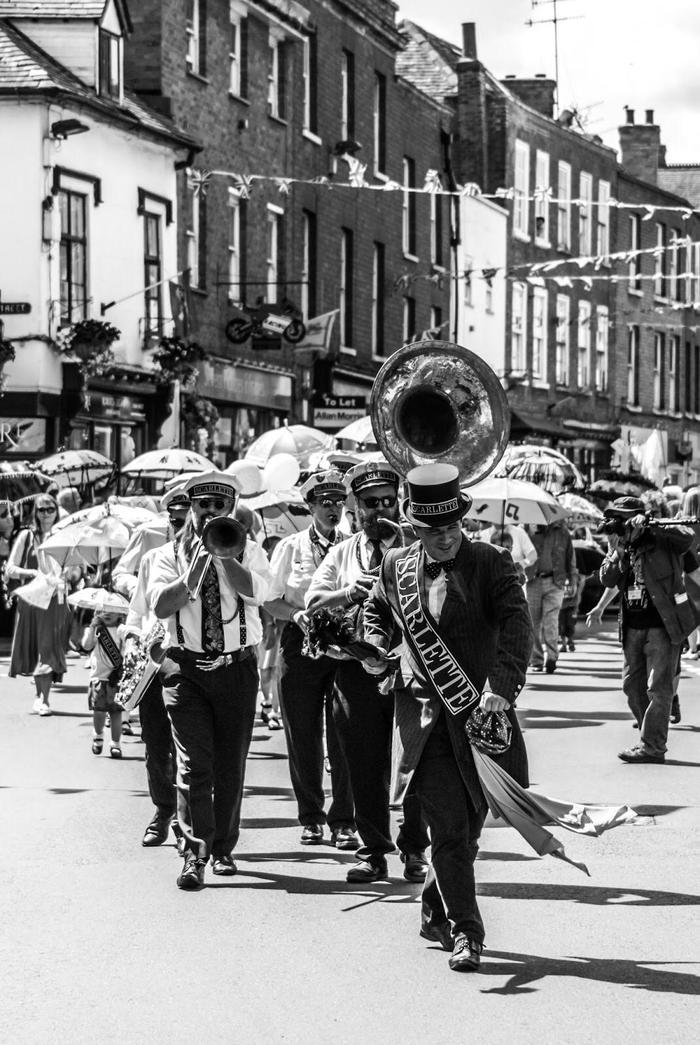 2. Parade at Upton Jazz Fesival