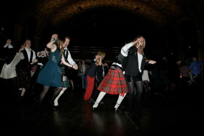 3. Ceilidh Dancing