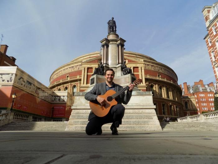 8. At the Royal Albert Hall