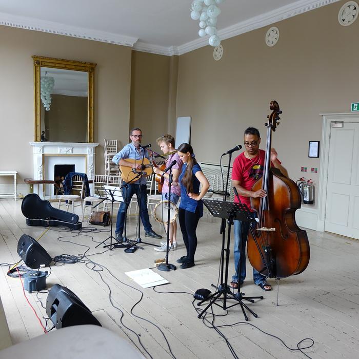 3. Rehearsal in progress