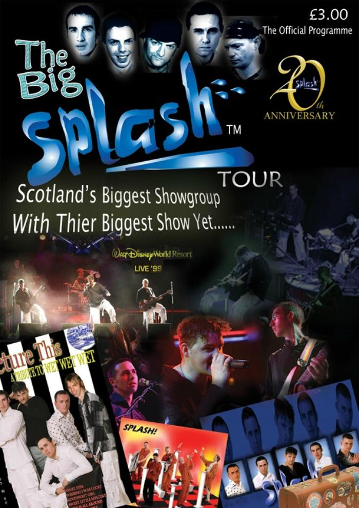 6. Big Splash Tour Cover