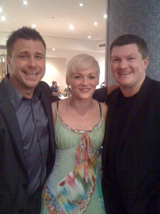 Stacey Squires : photo : craig phillips, stacey squires and ricky hatton