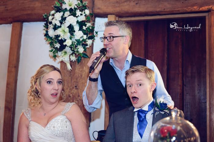 1. Nicholas surprising the Bride & Groom