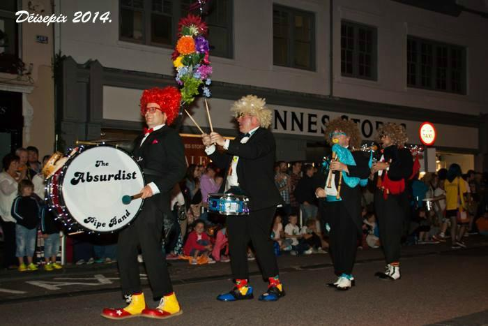 5. Leading the Waterford Spraoi Parade 2014