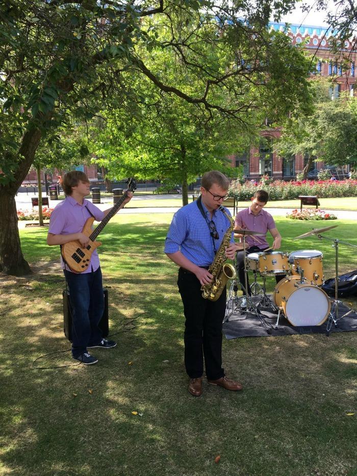 4. The Alex Fisher Trio