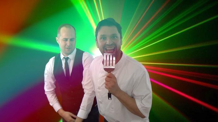 3. Singing Waiters