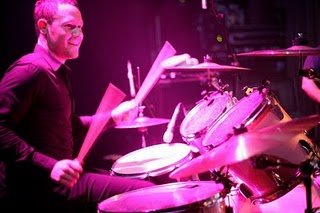 The Anne Dickson Band : photo : Sam McLeod - Drums