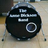 The Anne Dickson Band : photo : The Anne Dickson Band Bass Drum