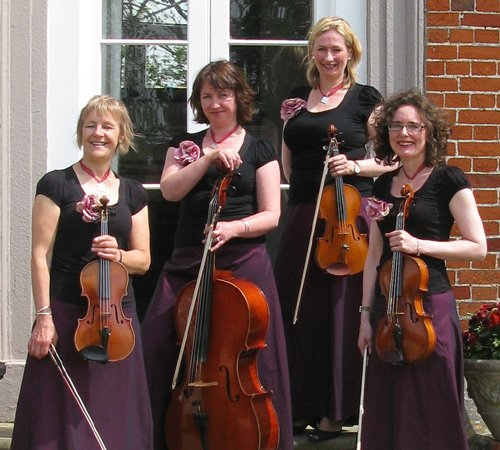 The Astor String Quartet : photo : Astor String Quartet