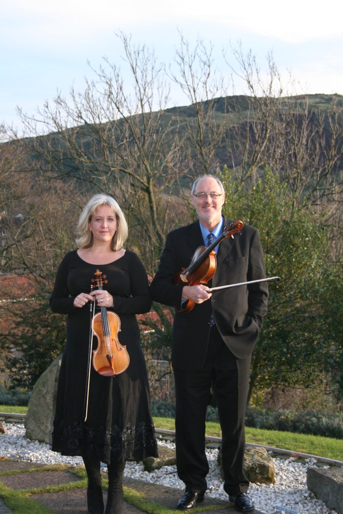 The Beeston Arts Quartet : photo : Liz and Michael Beeston - founders, Beeston Arts Quartet