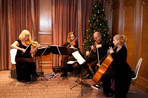 The Beeston Arts Quartet : photo : BA 1