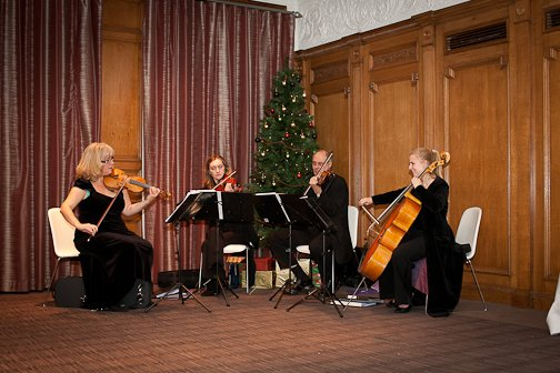 The Beeston Arts Quartet : photo : BAM
