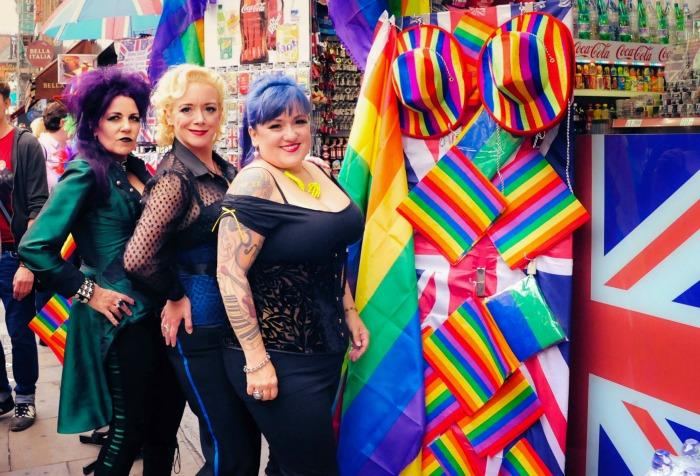 9. Before performing at Pride London 2014