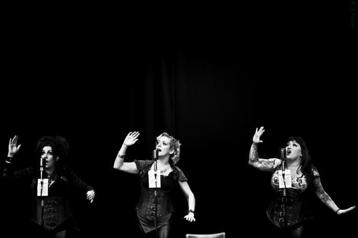 The Belle Fleurs : photo : Mr Sandman