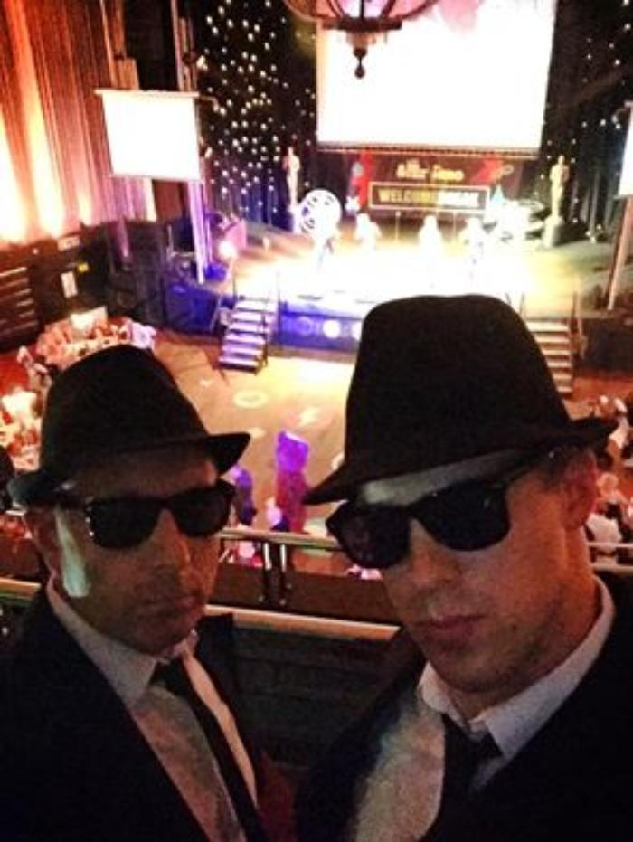 9. The Birmingham Blues Brothers