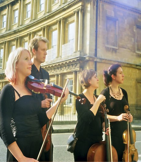 The Bristol String Quartet : photo : Quartet
