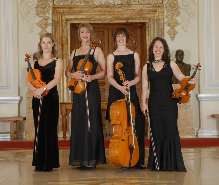 The Cambria String Quartet : photo : Cambria String Quartet