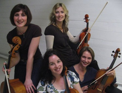 The Cambria String Quartet : photo : Cambria SQ