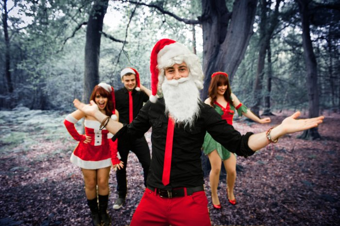 The Crazy Christmas Band : photo : Crazy Xmas band3