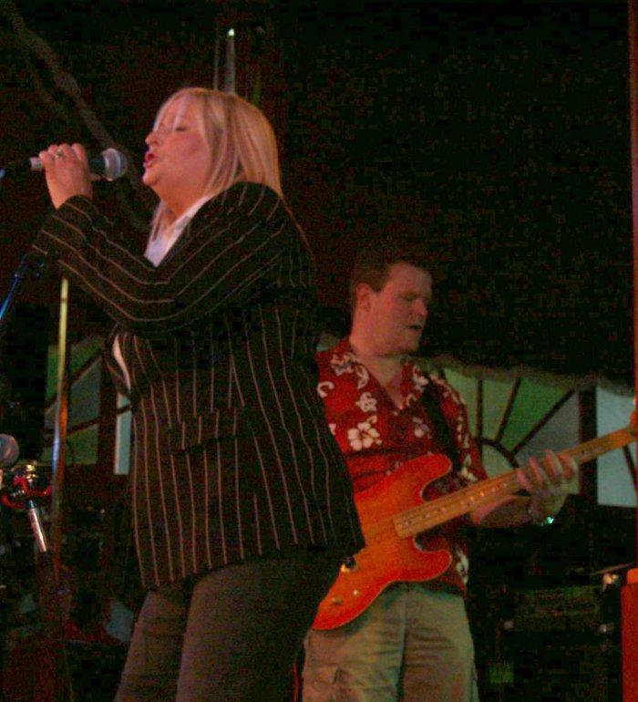 3. Dana Dixon in concert