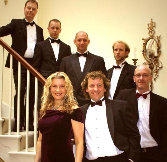 The Debbie Boyd Band : photo : Formal attire