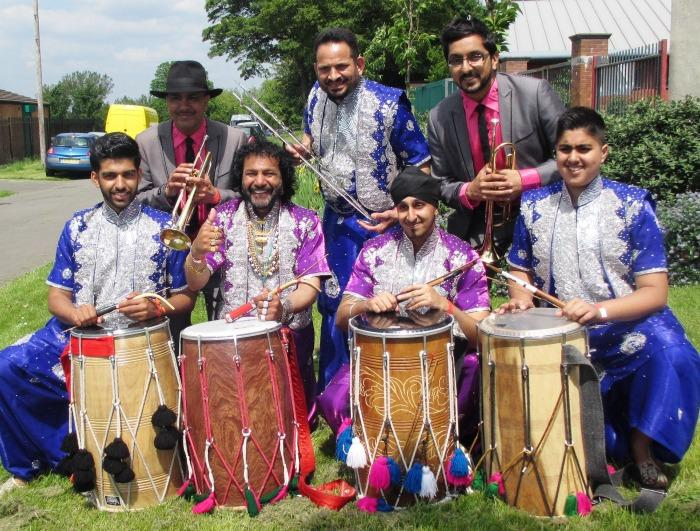 The Dhol Blasters : photo : DB 2