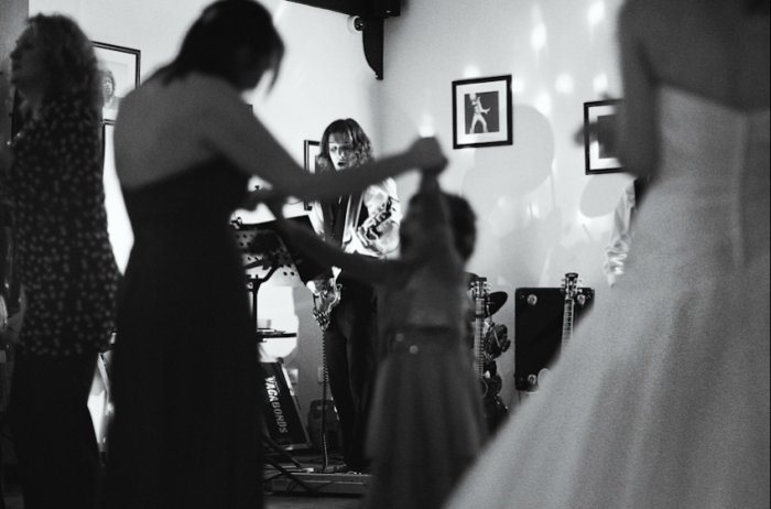 The East Coast Vagabonds : photo : Wedding Ox Pasture Hall Dec 2011