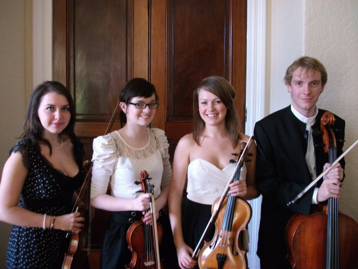 The Egmont Quartet : photo : At Cave Castle