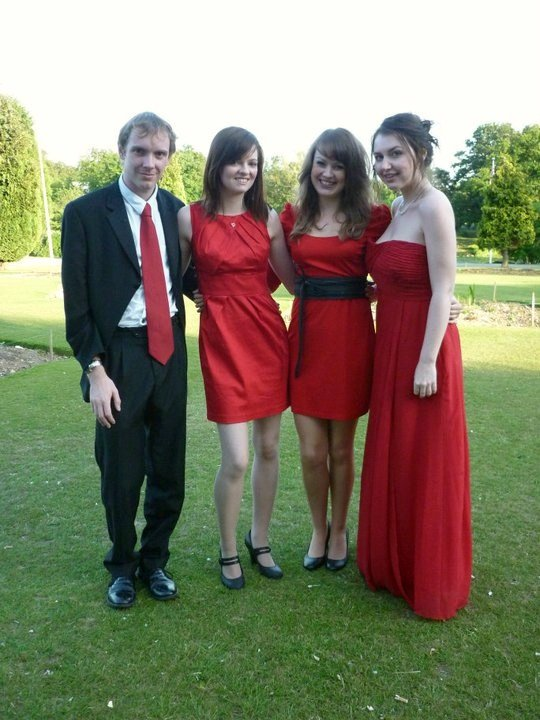 The Egmont Quartet : photo : In Red fof the Gaftas
