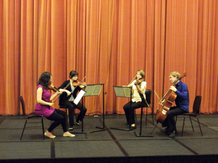 The Egmont Quartet : photo : Middleton Hall