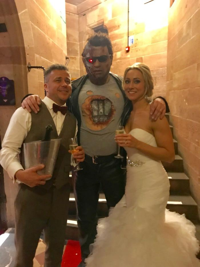 5. At Craig Philips Celebrity  wedding