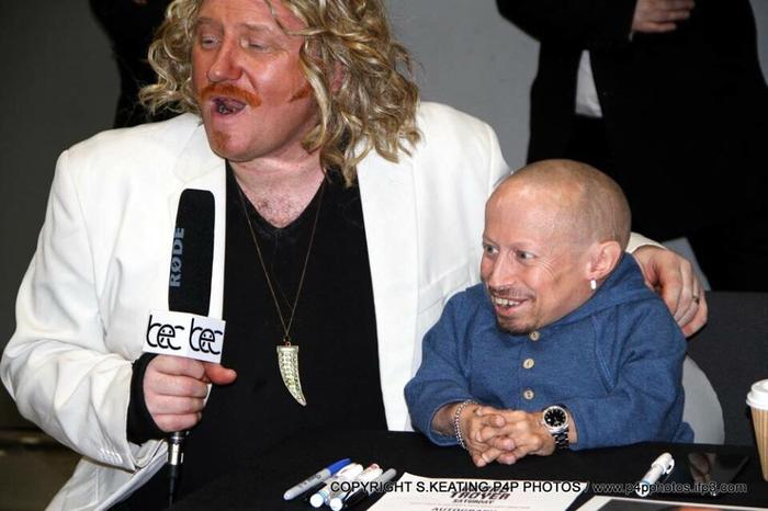 2. Interviewing Verne Troyer . RIP