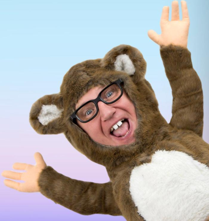 9. hes a old Tv star but now hes back the Bear comes on tour with us