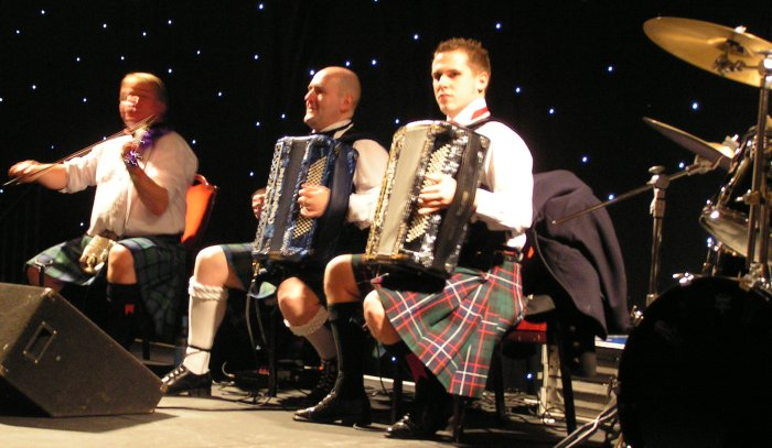 1. The Gary Blair Ceilidh Band for hire