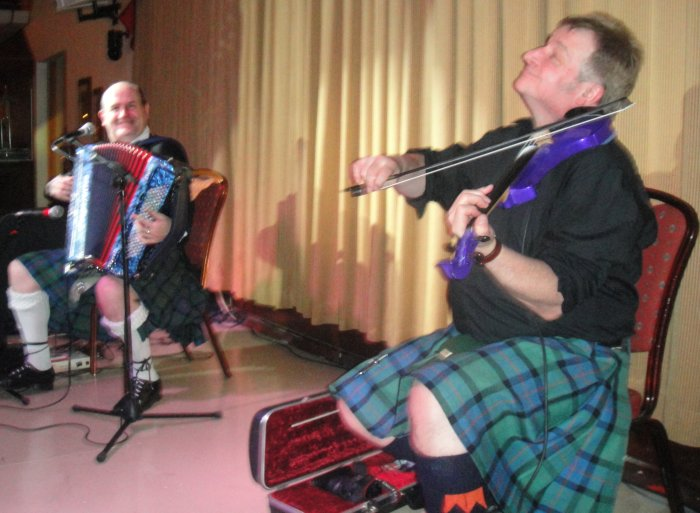 2. The Gary Blair Ceilidh Band for hire