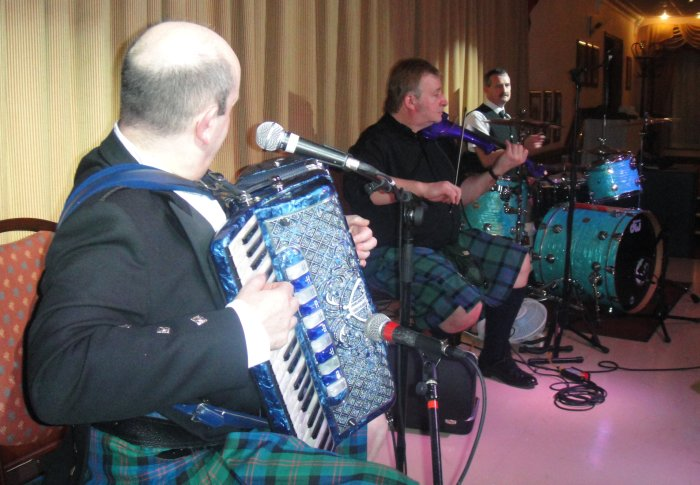 3. The Gary Blair Ceilidh Band for hire