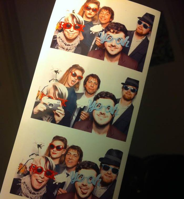 9. Photo booth japes...