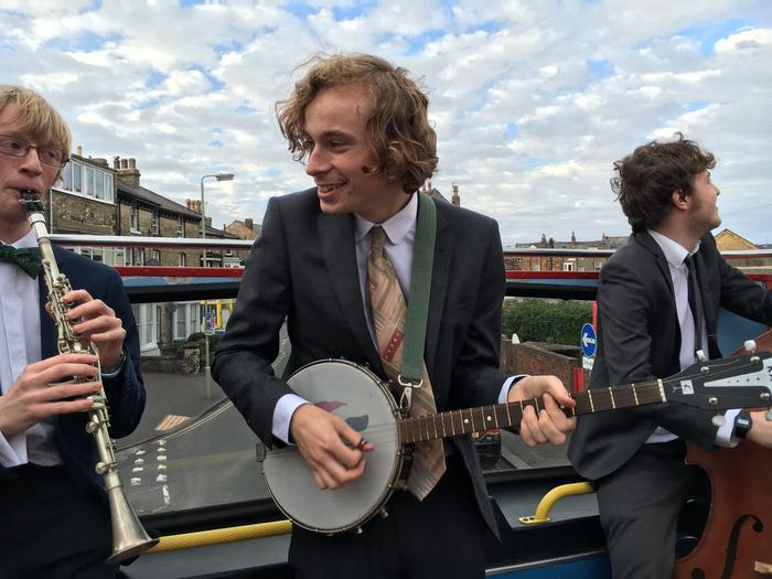 3. Private event on an open-top bus, Scarborough, September 2016