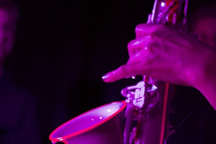 6. Light-Up Saxophone Close Up