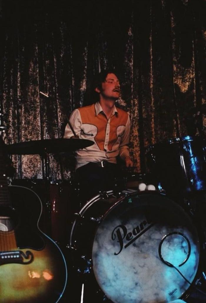 2. Brother Sam on Drums.