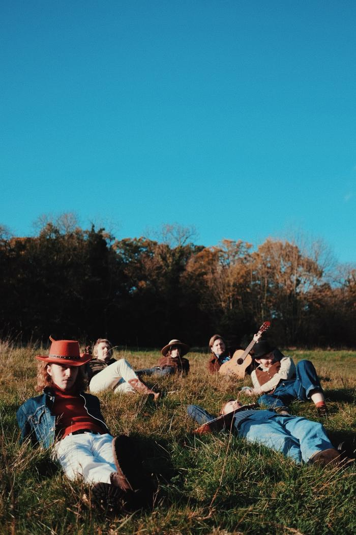 3. Relaxing on the ranch.