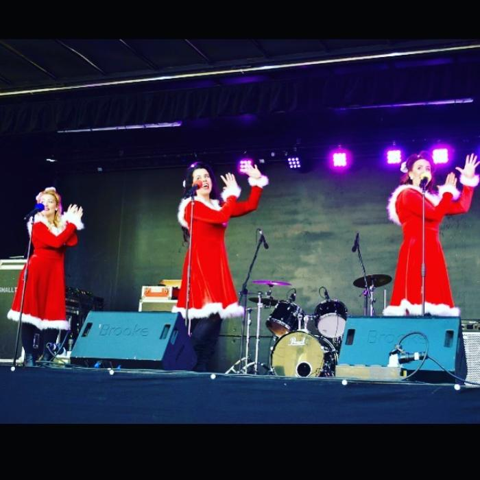 1. Performing The Christmas Belles Show in 2017