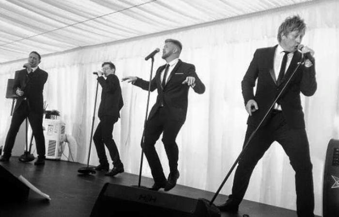 2. The Boys Live @ Southport Flower Show