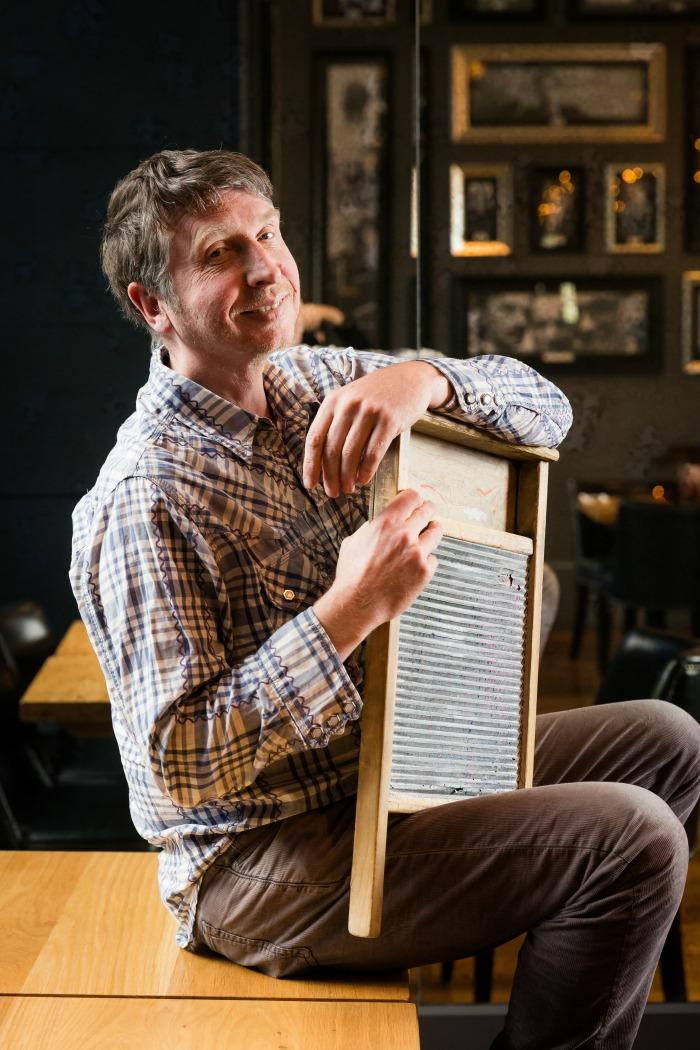6. Ian Stoddart - Drums/Washboard
