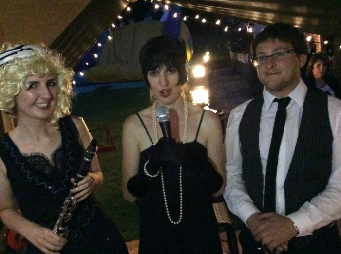 5. Wedding gig, Moochers Trio