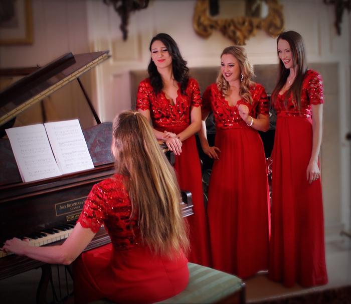 2. Four part harmony festive act