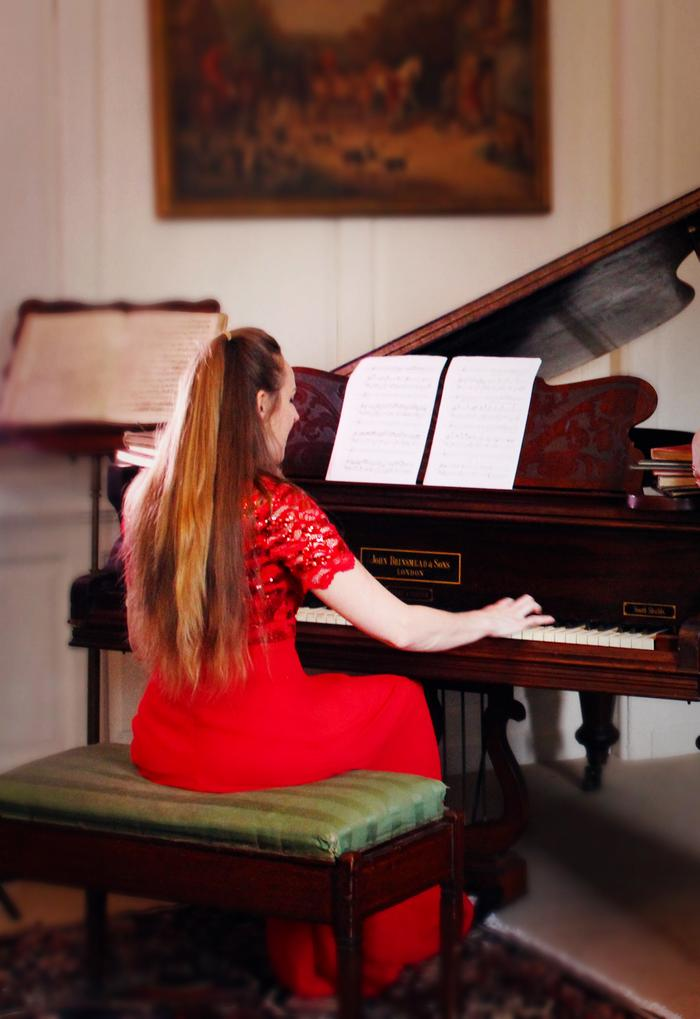 4. Live piano and vocals